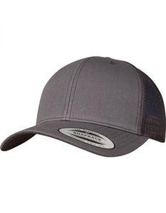 Flexfit Herren Caps Retro Trucker 6606, color:darkgrey, size:one size