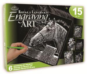 Royal & Langnickel AVS-SIL205 Silver EA Box Set