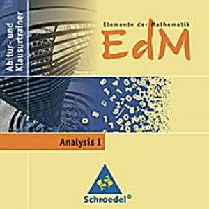 Elemente der Mathematik (EdM), Abitur- und Klausurtrainer Analysis I, CD-ROM