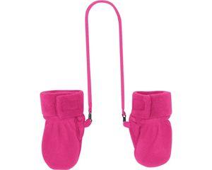 Playshoes Handschuhe Fleece Fäustlinge pink Baby 422013-18, Farbe Playshoes:pink, Größe Playshoes:6-12 M