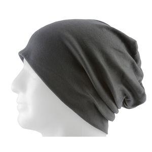 Oblique Unique Long Beanie XXL Mütze Slouch Damen Herren Kinder Mütze - smokey grey