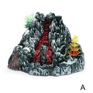 Vulkan-Modell (A) $ realistisch Dinosaurier von Jurassic Kinder Spielzeug-Modell eines prähistorischen Vulkans