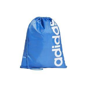 adidas Sportbeutel Turnbeutel LINEAR Core GYMBAG Gym Sack Tasche blau