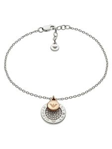 Emporio Armani EG3378040 Damen Armband Bicolor Rose Weiß 18 cm
