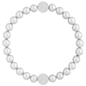 Swarovski 5364103 Armband Remix Collection Light Gray Pearl