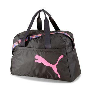 Puma At Ess Grip Bag, PUMA-BLACK-BUBBLEGUM