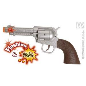 Cowboy Pistole Revolver Attrappe