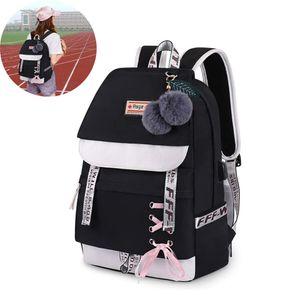 Schulrucksack Mädchen Schulranzen Jungen Schultasche mit Ergonomischem Design Rucksack Campus Backpack Nylon