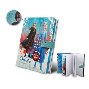 Kids Licensing code-Tagebuch Gefroren 2 Mädchen 21 cm Karton blau