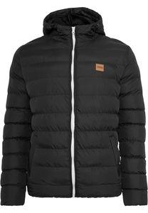 Urban Classics Winterjacke Basic Bubble Jacket Blackwhiteblack-3XL