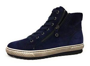 Gabor  Damenschuhe Stiefeletten Reißverschluss Stiefelette Blau Freizeit, Schuhgröße:EUR 37 | UK 4