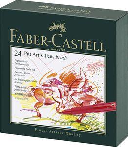 FABER-CASTELL Tuschestift PITT artist pen 24er Atelierbox