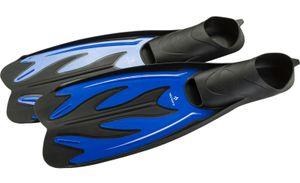 Tecno Pro Kinder Schwimmflosse Flossen F5 JR blau schwarz, Größe:34/35