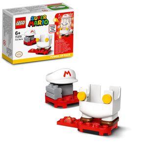 LEGO 71370 Super Mario Feuer-Mario - Anzug, Erweiterungsset, Feuer Power-Up Pack