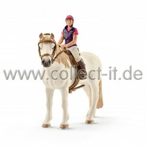 Schleich Freizeitreiterin mit Pferd