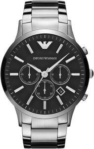 Emporio Armani Herren Armbanduhr Silber