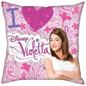 Disney kissen Violetta Mädchen Herz 40 cm Polyester rosa