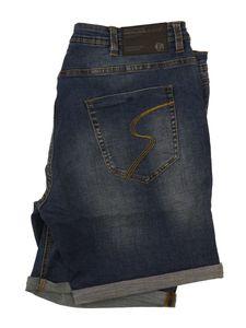 XXL Jeans-Shorts von Replika blau , INCH Größen:46 Inch