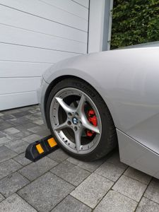 Radstopper WHEELSTOP Reifenstopper Parkstopper Garage Stopper Parkhilfe Parken