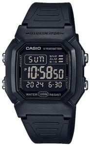 Casio Collection Herrenuhr W-800H-1BVES Digitaluhr schwarz