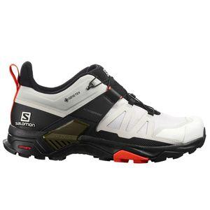 Salomon Shoes X Ultra 4 Gtx Lunroc/Black/Ch Lunar Rock/Black/Cherry To 44