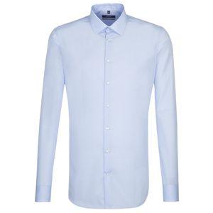 Seidensticker Herren Business Hemd X-Slim Extra langer Arm Kentkragen  Blau, Größe:38