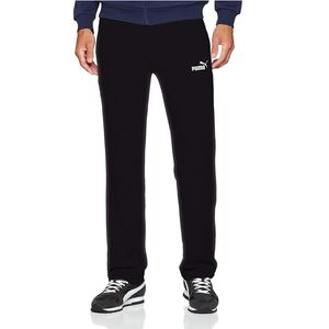 Puma Jogginghose Herren ESS Logo Pant, Größe:L, Farbe:Schwarz