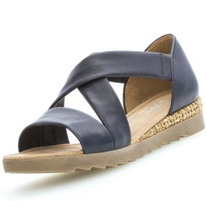 Gabor Comfort Sandalette  Größe 5.5, Farbe: midnigh(Grata/a