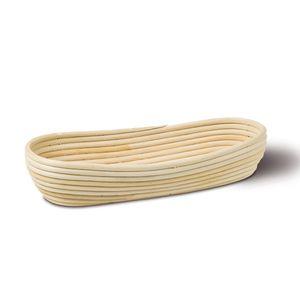 Neustanlo Gärkörbchen Gärkorb aus Peddigrohr Oval 37x16 cm 1 kg