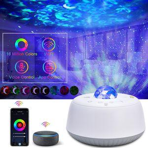 LED Sternenhimmel Projektor Lampe Smart Voice & APP Kontrolle Nachtlicht für Schlafzimmer Deko Kinder Geschenke