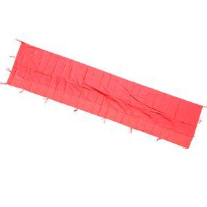 Wasserdicht Outdoor Seitenwand für Gartenzelt Camping Zelt 红色 / 整 布 2M * 6M 200 cm Rot A 190x570cm