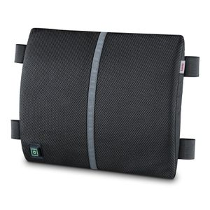 Beurer HK 70 Rückenstütze mit Wärme, Farbe:Grau