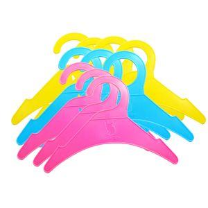 10x Plastik Kleiderbügel aus Kunststoff Für Kinder Baby , Anti-Rutsch-Design