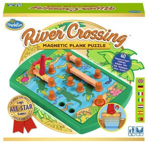 Thinkfun Familienspiel Logikspiel River Crossing 76349