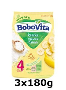 GroßhandelPL Reis Bobovita Brei Baban nach 4 Monaten 3x180g