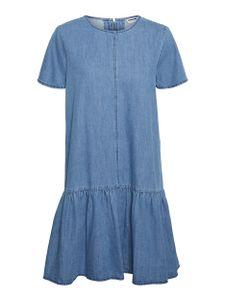 Noisy may NMEMILIA S/S DRESS MB NOOS 217007 Medium Blue Denim L