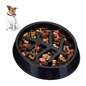 relaxdays Anti Schling Napf Hund