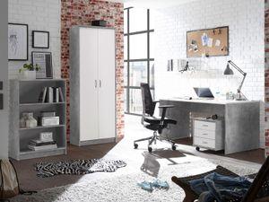"""Büro-Set Bürokombi Büroeinrichtung Büroprogramm Büromöbel """"Olli IV"""" (4-teilig)"""