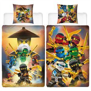 Lego Ninjago Crew Bettwäsche Biber / Flanell