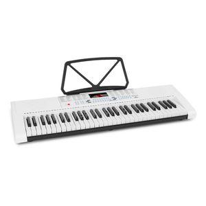 SCHUBERT Etude 255 LCD , Lern-Keyboard 61 Tasten , LED-Display , Leuchttasten , 255 Rhythmen