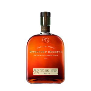 Woodford Reserve Distillers Select Kentucky Straight Bourbon Whiskey | 43,2 % vol | 0,7 l