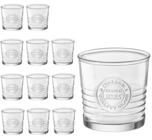 12er Set Whiskygläser OFFICINA 30cl 10oz Ø ca.8,5cm Tumbler Cognacglas Rumglas Spirituosen-Glas