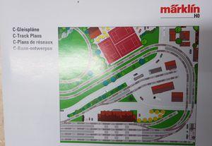 Märklin H0 Heft C-Gleispläne 35 Seiten verschiede Gleispläne mit Stückzahl und Menge der Gleise 0818