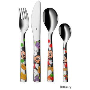 WMF Kinderbesteck 4 teilig Mickey Mouse