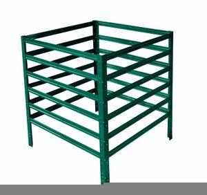 shelfplaza® HOME Komposter garten grün 100x100x120 cm / Kompostierer als Metallkomposter mit bis zu 1200L Kapazität / Komposter Metall als Compost Bin & Kompostbehälter / Steck-Komposter für Garten