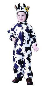 Kostüm Kuh Kuhkostüm Tierkostüm für Kinder Kinderkostüm Gr. 86 - 158, Größe:98/104