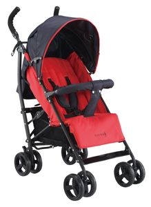 Knorr-Baby Buggy der Serie Happy Colour, Modell: Styler ; Farbe: rot ; Maße (LxBxH): 67 cm x 48 cm x 98 cm ; Artikelnr: 848530