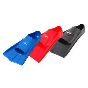 ZAOSU Trainings Fins - Kurzflossen, Größe:43/44, Farbe:schwarz