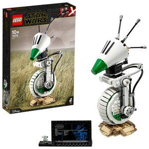 LEGO 75278 Star Wars D-O Droide, Sammlermodell, Bauset aus Der Aufstieg Skywalkers