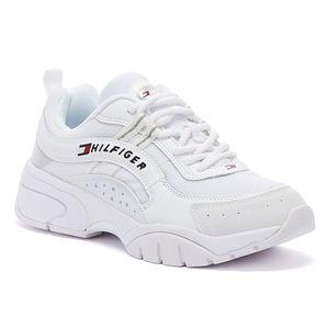 Tommy Hilfiger Tommy Jeans Wmns Runner Damen Sneaker in Weiß, Größe 39